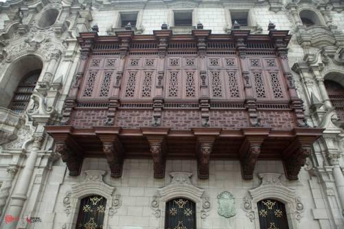 Lima's balconies