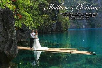 Kayangan Lake Wedding & Coron Honeymoon.