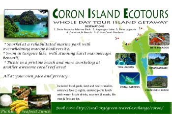 Iconic Coron excursions.
