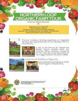 Sustainable Agri Tour- Northern Loop, Negros Occidental