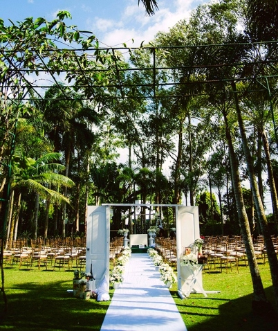 Green weddings and events at Nature's Village Resort. Photo via midorimoon.com