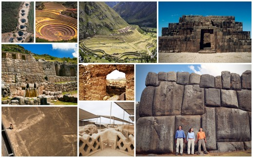 Seven Wonders: Peru has an archealogical motley of at least seven civilizations before the Incas.