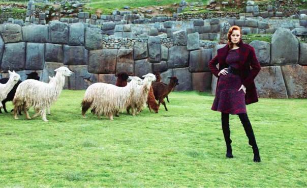 High fashion inspired by Cusco. Photo via Visit Peru.