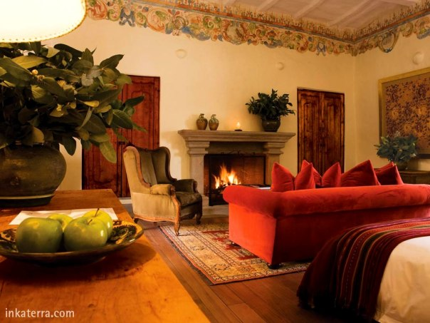 Inkaterra La Casona,  former Incan Royal & Peru's conquerors' residence, now Cusco's foremost luxury boutique hotel.