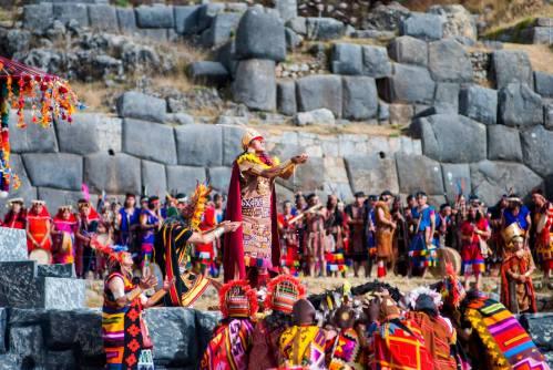 Inti Raymi, Cusco's foremost festival.